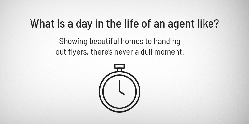 What is a day in the life of an agent like